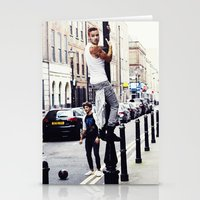 liam payne Stationery Cards featuring Liam Payne by Becca / But-Like-How