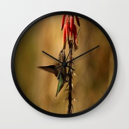 One Moment At Time Wall Clock