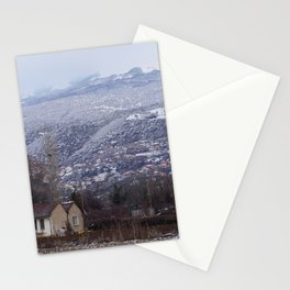 The house on the clearing Stationery Cards