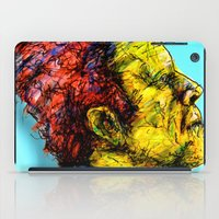 tom waits iPad Cases featuring Tom Waits by Alec Goss