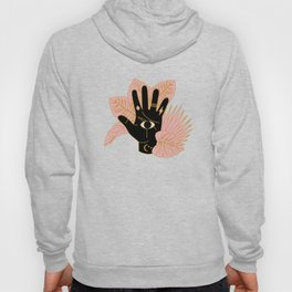 Mystic Hand Black Hoody