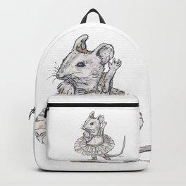 Tiny Dancer - Ballet Field Mouse Backpack