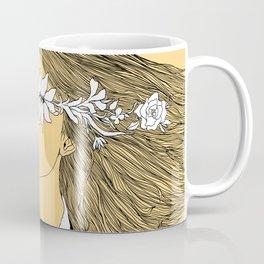 Flowers in My Eyes (Life in a Glimpse) Coffee Mug