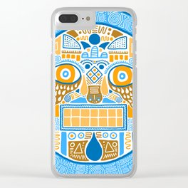 Facing the disk Clear iPhone Case