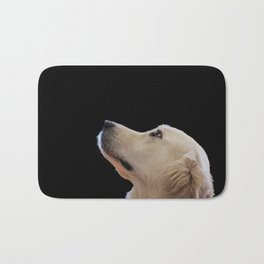 Man's Best Friend - Labrador Dog Portrait Bath Mat