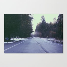 Mountain Rainier  Canvas Print