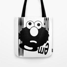 Emo Elmo Tote Bag