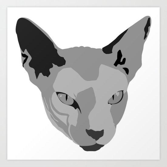 Meowr Art Print