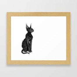 blackcat2.jpg Framed Art Print
