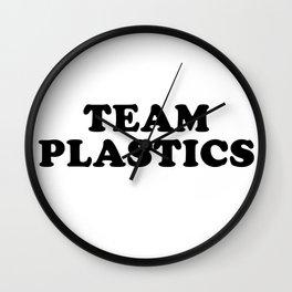 Team Plastics Wall Clock