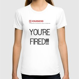 BACK TO THE FUTURE - You're Fired ! T-shirt