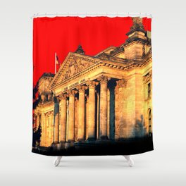 Architectural Shapes #6 Shower Curtain