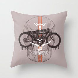 Board Track Racer Throw Pillow