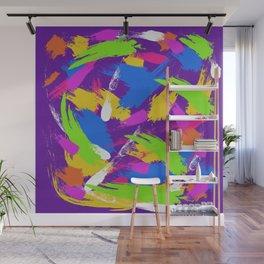 Purple Emotions #2 Wall Mural