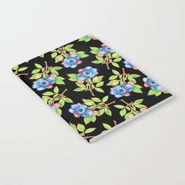 Wild Blueberry Sprigs Notebook