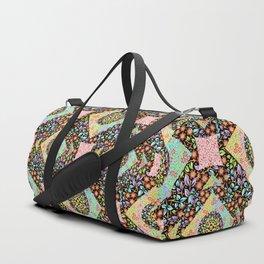 Boho Chic Patchwork Duffle Bag