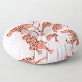 fierce females, pink night Floor Pillow