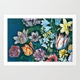 Dutch Delight Art Print