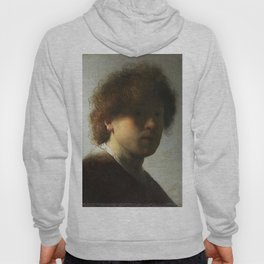 Rembrandt van Rijn, Self-portrait. Hoody