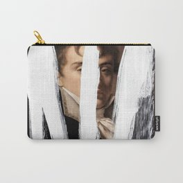 Brutalized Portrait of a Gentleman 2 Carry-All Pouch