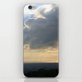 Cloudy day iPhone Skin
