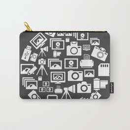 Photo circle Carry-All Pouch