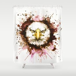 """""""Into the mirror"""" n°6 The eagle Shower Curtain"""