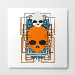 碔 _ Metal Print