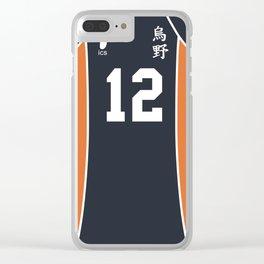 Yamaguchi's Jersey Clear iPhone Case