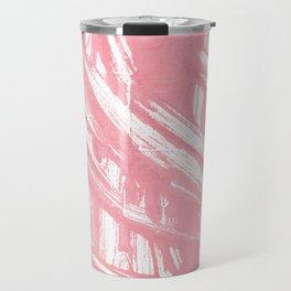 Mauvelous abstract watercolor Travel Mug