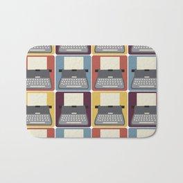 Typewriter v9056 Bath Mat