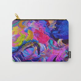 Abstract Viscosity Carry-All Pouch