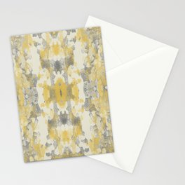 Sycamore Kaleidoscope - Golden Yellow Stationery Cards