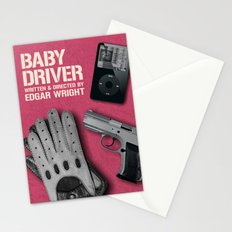 Baby Driver Stationery Cards