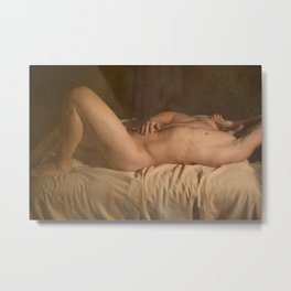 Ode to the Old Masters II Metal Print