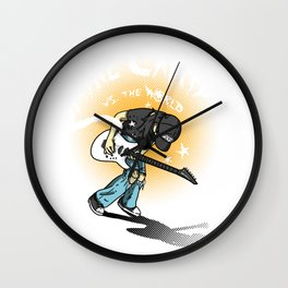Wayne Vs the World Wall Clock