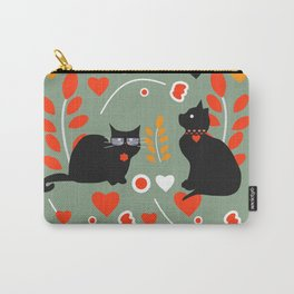 Romantic cats Carry-All Pouch