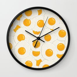 Extra eggs Wall Clock