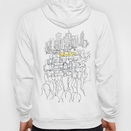 NYC yellow cab Hoody