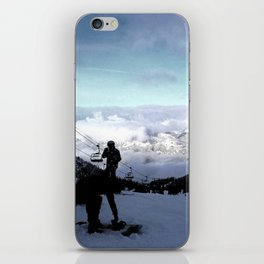 Up here with wonderful views iPhone Skin