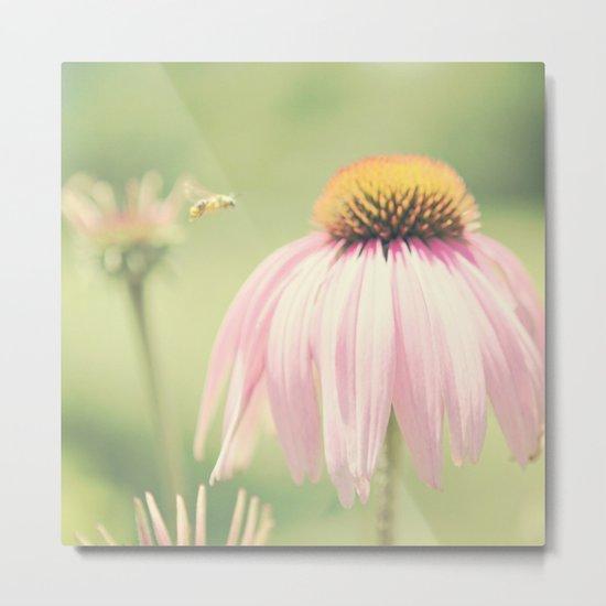 Little Honey Bee Metal Print
