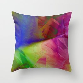 Multicolored abstract 2016 / 019 Throw Pillow