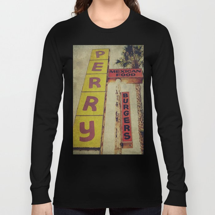 Perry's Vintage Sign Long Sleeve T-shirt