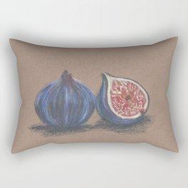 Ode to a fig Rectangular Pillow