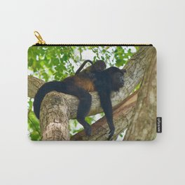 Momma Monkey & Baby Carry-All Pouch