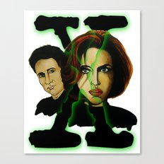 X-files 2 Canvas Print