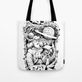 Astro Pals Tote Bag