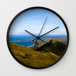 View from Skye Wall Clock