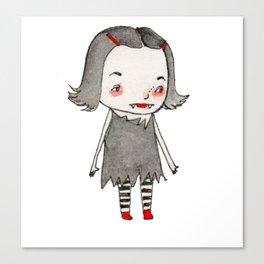 Vera's Vampire Costume Canvas Print