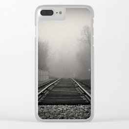 touched by fog Clear iPhone Case